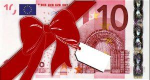 10 euro tasuta raha