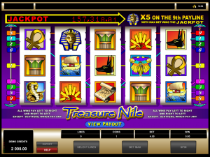 Treasure Nile Kings Win